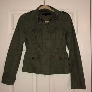 Blanc Noir Army Green Utility Jacket